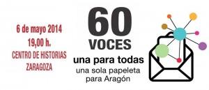 Una papeleta para Aragón